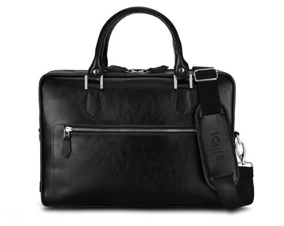 Laptop bag Solier SL23 black