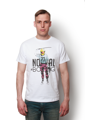 Normal = Boring Motocyclist